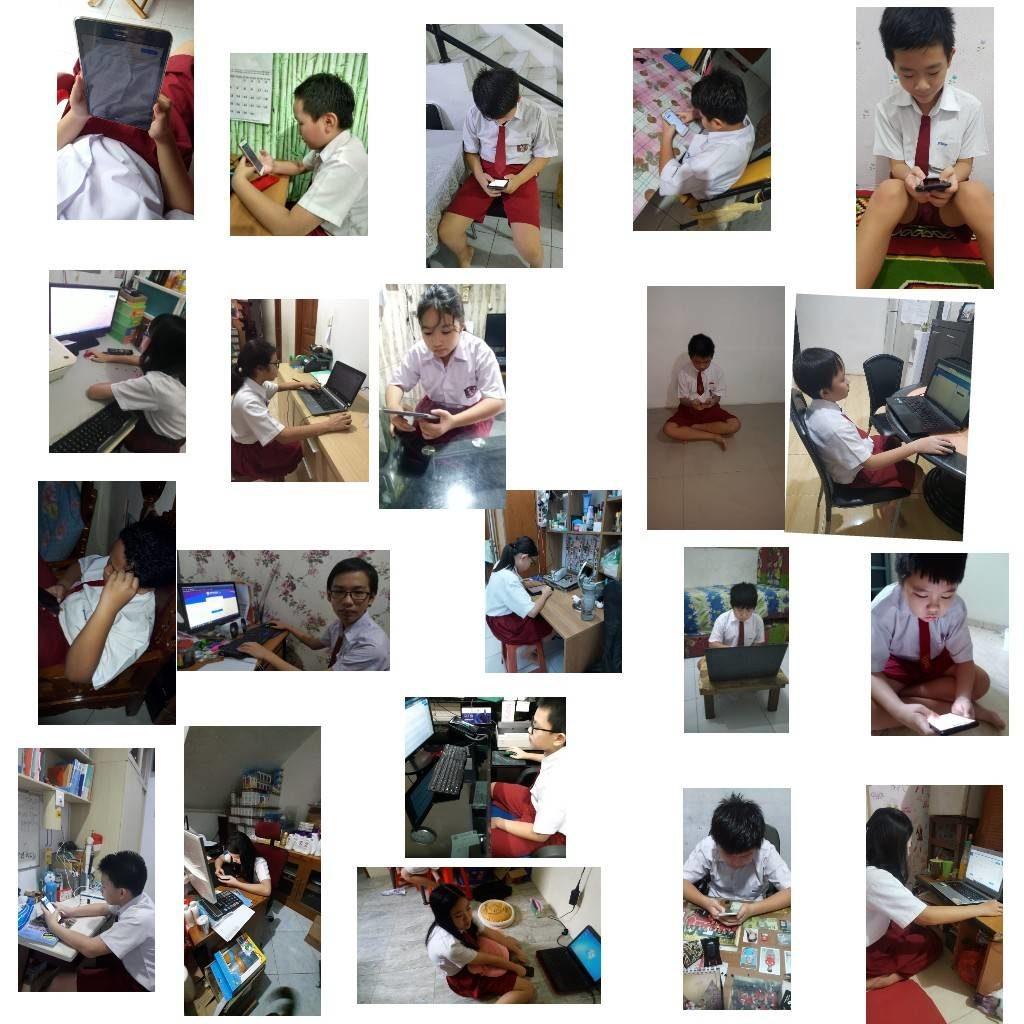 Ujian Sekolah SD online